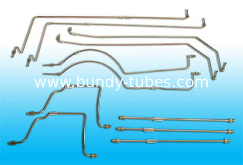 Double Wall Compressor Tubes , Copper Coated Low Carbon Steel Tube